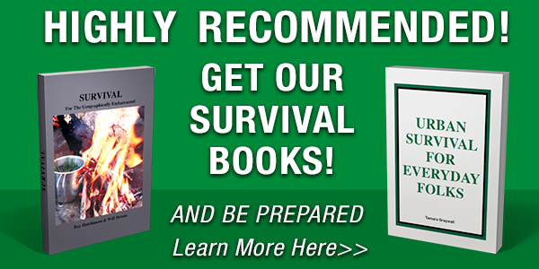 Get our Survival Books!
